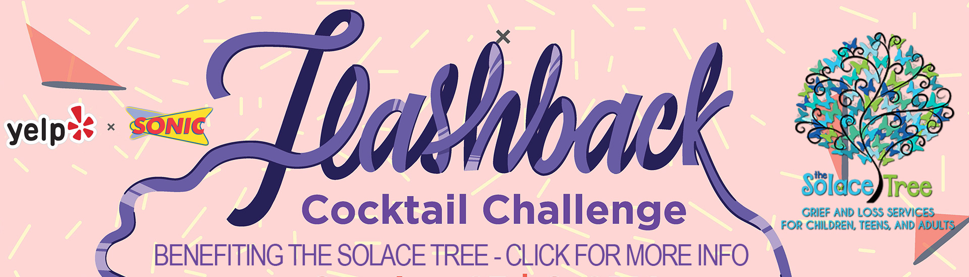 Flashback Cocktail Challenge Benefiting The Solace Tree – 10-23-19