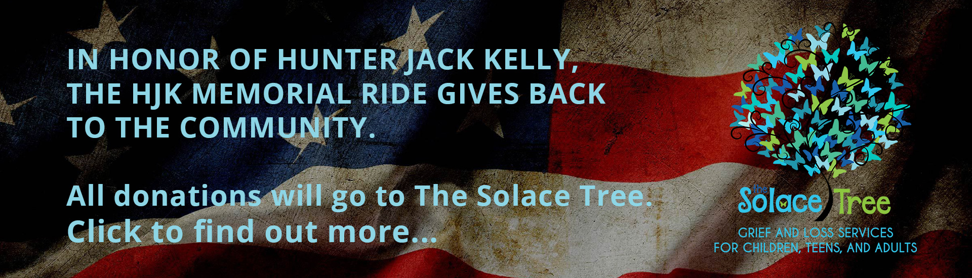 3rd Annual HJK MEMORIAL RIDE Benefits The Solace Tree 9-14-2019
